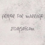Prayer for the spouse God has for you!