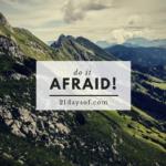 Do it afraid nj